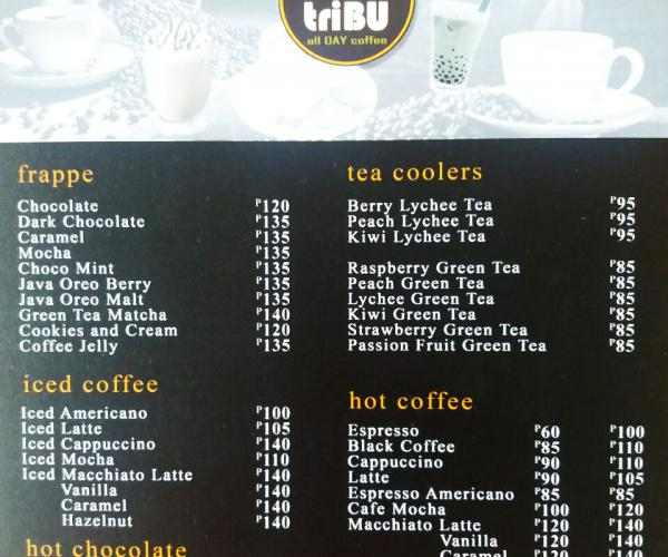 Cafe Tribu Now Open at Primark Town Center | Cainta | Primark